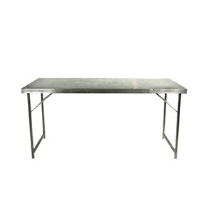 Verhuur-RVS-Werktafel