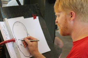 Karikatuur tekenaar of sneltekenaar inhuren