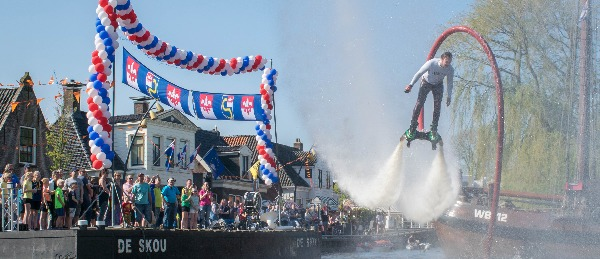 Watershow - Flyboarden show