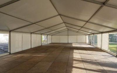 Aluminium tent - 10 meter breed - tenten