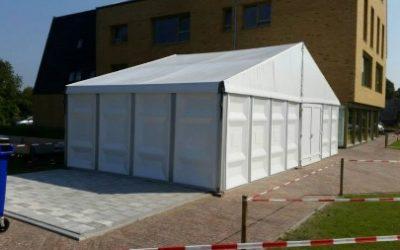 Werktent op locatie - Tenten