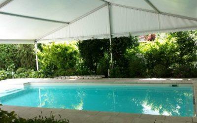 Zwembad werktent - Tenten