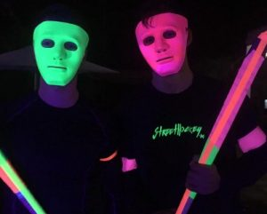 Hockey-Glow-in-the-dark-demonstratie