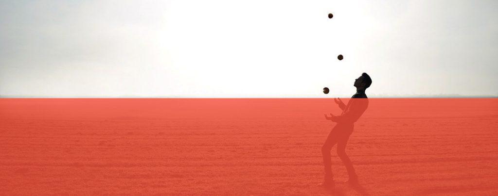 Hoe te jongleren - Jongleren met drie of meer ballen