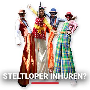Entertainmens-Steltloper-Steltenloper-Steltenact-inhuren